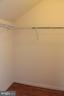 Walk-in closet - 605 RAVEN AVE, GAITHERSBURG