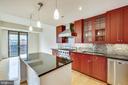 Kitchen - 7710 WOODMONT AVE #1207, BETHESDA