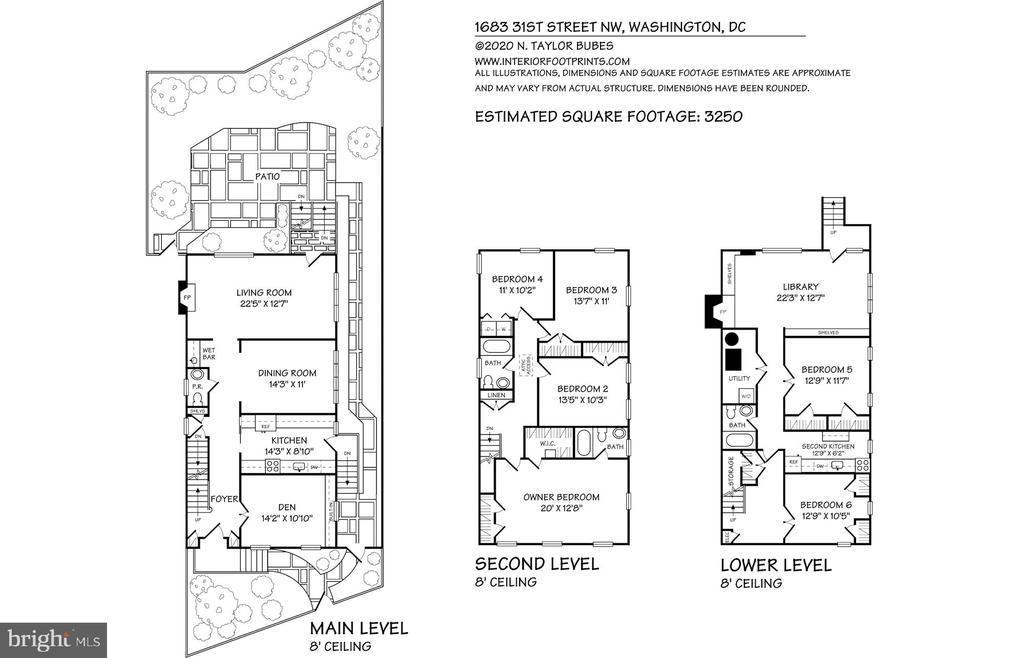 Floor Plans - 1683 31ST ST NW, WASHINGTON