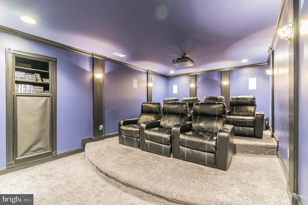 Movie Theater Room - 15241 PAVLO PL, WATERFORD