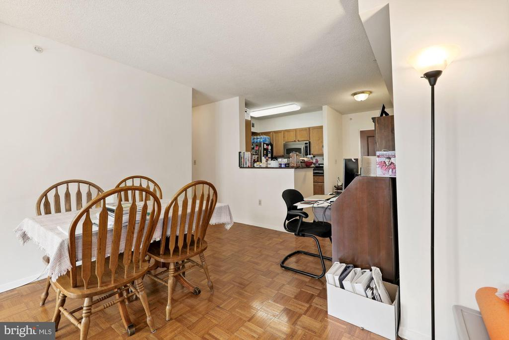 Dining Room - 7111 WOODMONT #701, BETHESDA