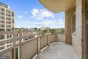 Large Balcony with Nice Views - 7111 WOODMONT #701, BETHESDA