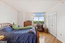 Bed Room with Large Walk-in Closet - 7111 WOODMONT #701, BETHESDA