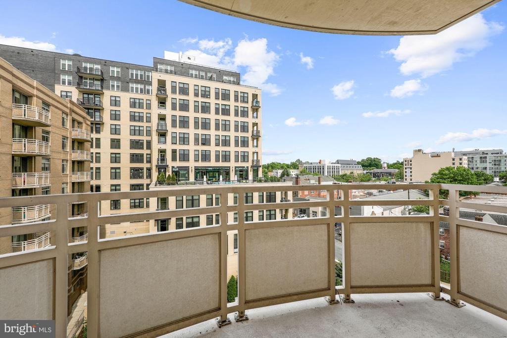 Large Balcony - 7111 WOODMONT #701, BETHESDA