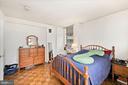 Spacious Bedroom - 7111 WOODMONT #701, BETHESDA