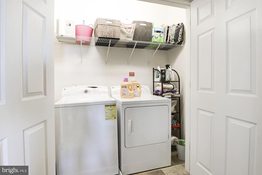 Laundry on bedroom level - 43779 KINGSTON STATION TER, ASHBURN