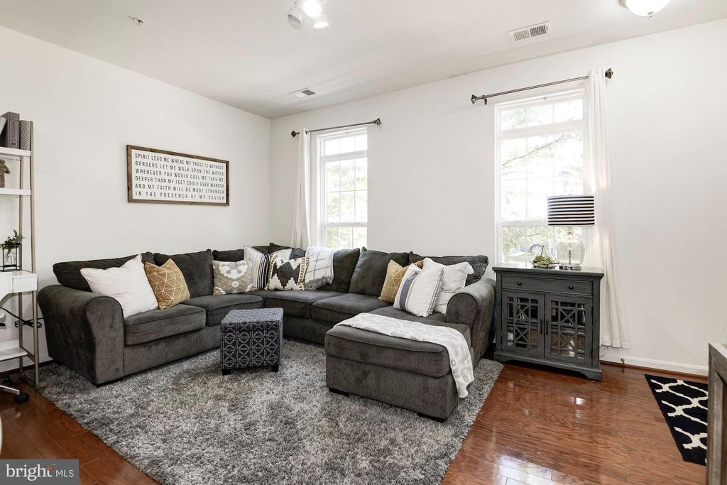 Spacious Living Room - 43779 KINGSTON STATION TER, ASHBURN