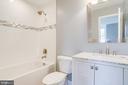 Attached full bath - 108 N PAYNE ST, ALEXANDRIA