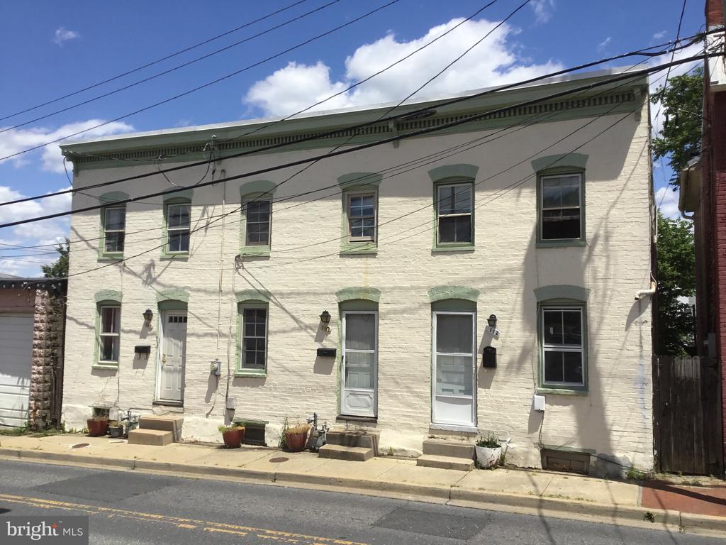 Front Exterior - 108, 110, 112 ICE ST, FREDERICK