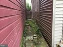 Access to Backyard from Street - 108, 110, 112 ICE ST, FREDERICK