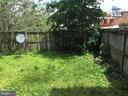 Backyard - 108, 110, 112 ICE ST, FREDERICK