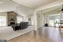 Open concept, perfect for entertaining - 4 BRANNIGAN DR, STAFFORD