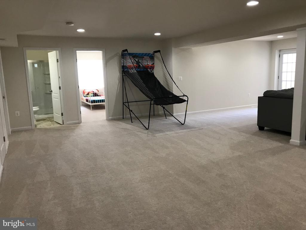 Game side of Rec Room - 112 FREESIA LN, STAFFORD
