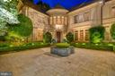 Front Entrance Night View - 8417 BROOKEWOOD CT, MCLEAN