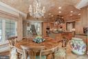 Custom Kitchen & Breakfast Room - 8417 BROOKEWOOD CT, MCLEAN
