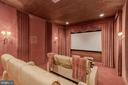 Media Room - 8417 BROOKEWOOD CT, MCLEAN