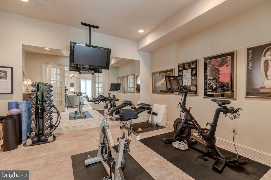 Fitness Room - 8417 BROOKEWOOD CT, MCLEAN