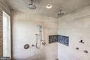 Master Shower - 606 DEERFIELD POND CT, GREAT FALLS