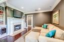 Master Sitting Room - 606 DEERFIELD POND CT, GREAT FALLS
