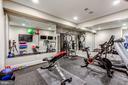 Fitness Room - 606 DEERFIELD POND CT, GREAT FALLS