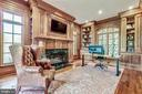 Library/ Study - 606 DEERFIELD POND CT, GREAT FALLS