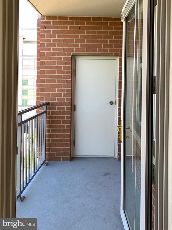 Balcony - 11760 SUNRISE VALLEY DR #606, RESTON