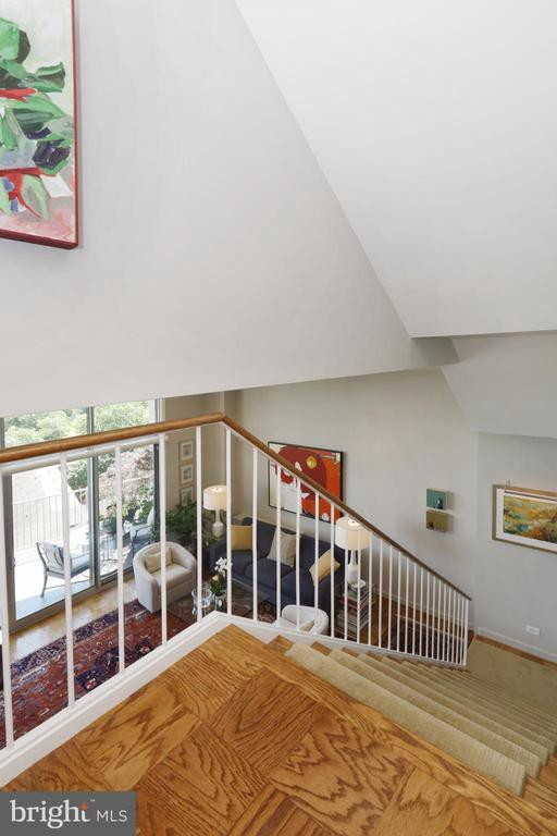 Staircase to Living Level - 1200 N NASH ST #824, ARLINGTON