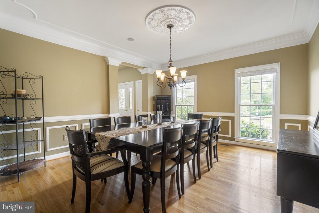 Dining Room - 40243 FEATHERBED LN, LOVETTSVILLE