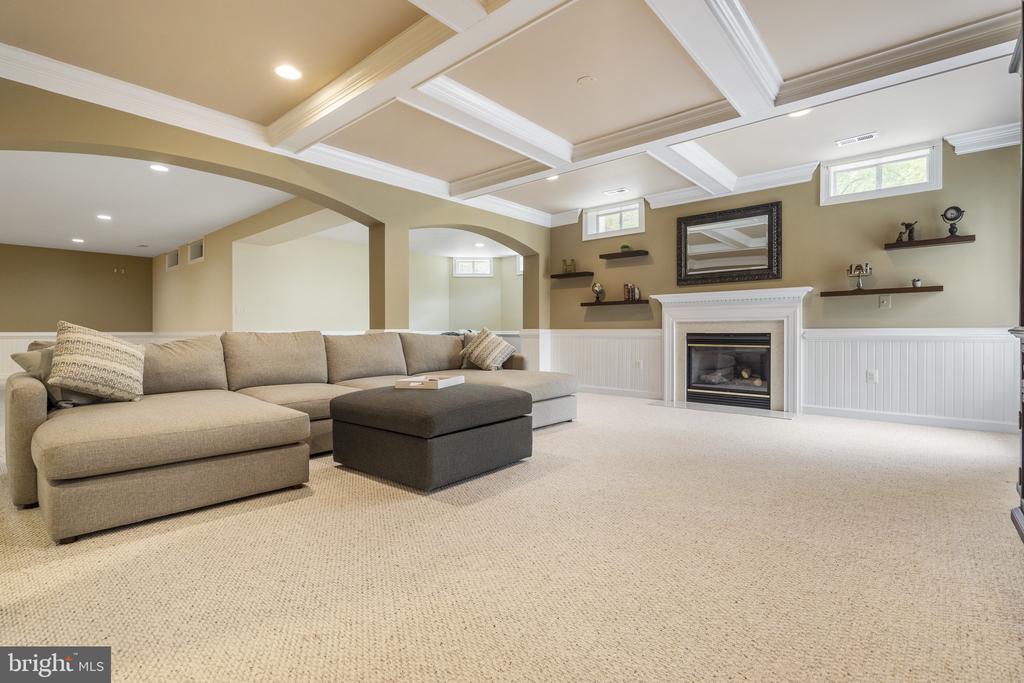 Lower Level Rec Room - 40243 FEATHERBED LN, LOVETTSVILLE