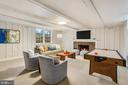 Lower Level Recreation Room - 4301 FOREST LN NW, WASHINGTON