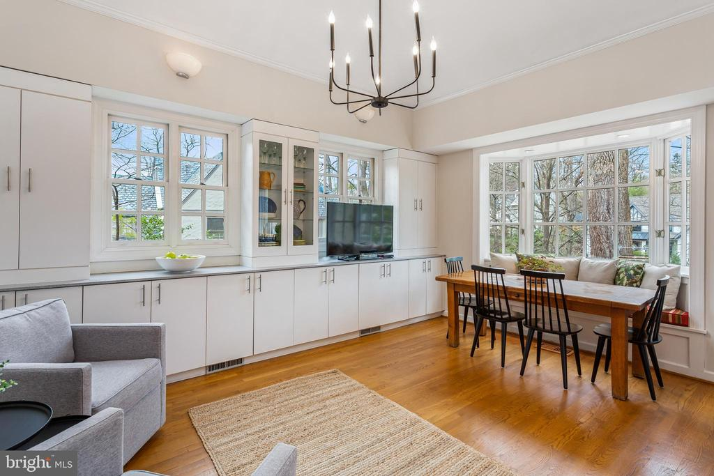 Breakfast/Family Room - 4301 FOREST LN NW, WASHINGTON