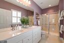 Owner Bath - 8 BATTERY POINT DR, FREDERICKSBURG