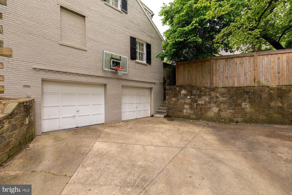 Exterior - 2-Car Garage - 4070 52ND ST NW, WASHINGTON