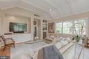 Main Level - Family Room with Wine Fridge - 4070 52ND ST NW, WASHINGTON
