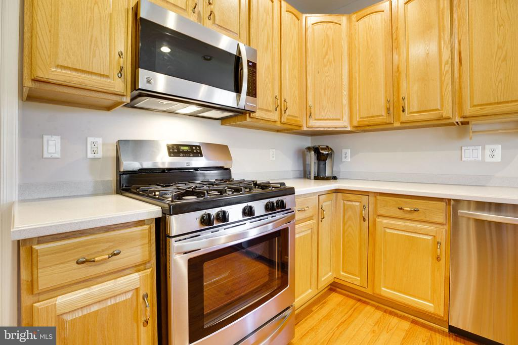 Gourmet Kitchen with stainless steel appliances - 13891 CRABTREE WAY, GAINESVILLE