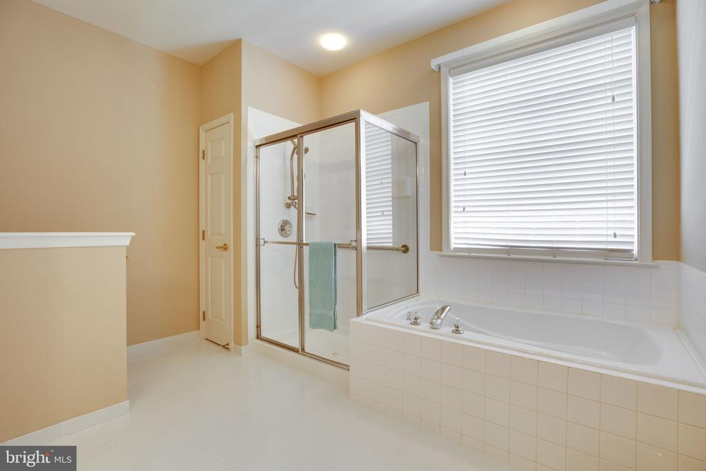 Master Bathroom with shower and soaking tub - 13891 CRABTREE WAY, GAINESVILLE