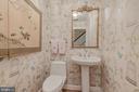 Main Level - Powder Room - 4070 52ND ST NW, WASHINGTON