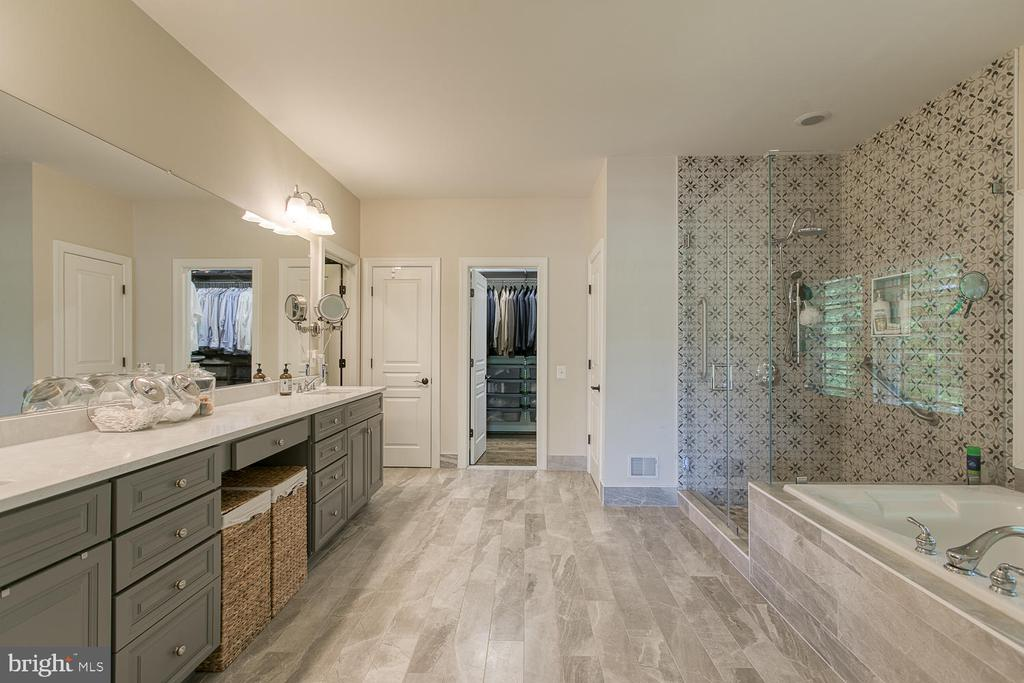 Updated Master Bath, on-trend style - 21079 MILL BRANCH DR, LEESBURG