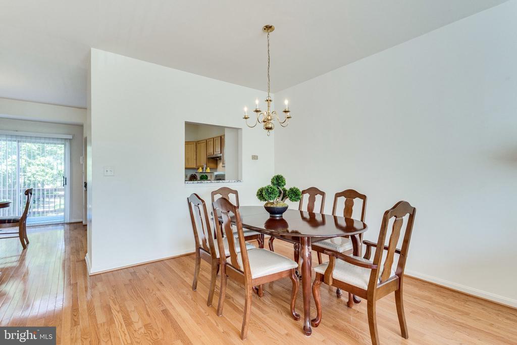 dining room - 6362 DAKINE CIR, SPRINGFIELD