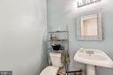 Main level half bath - 4 BRANNIGAN DR, STAFFORD