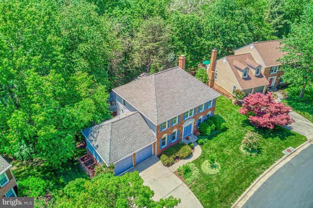 Aerial - 11959 GREY SQUIRREL LN, RESTON