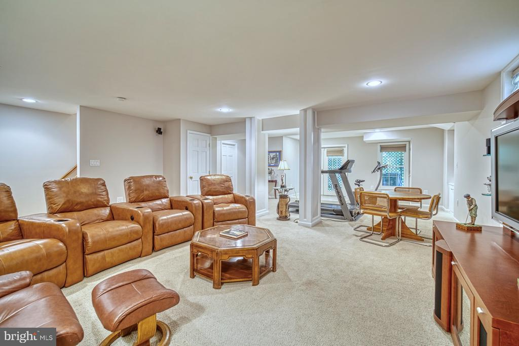 Lower Level Media Area - 11959 GREY SQUIRREL LN, RESTON