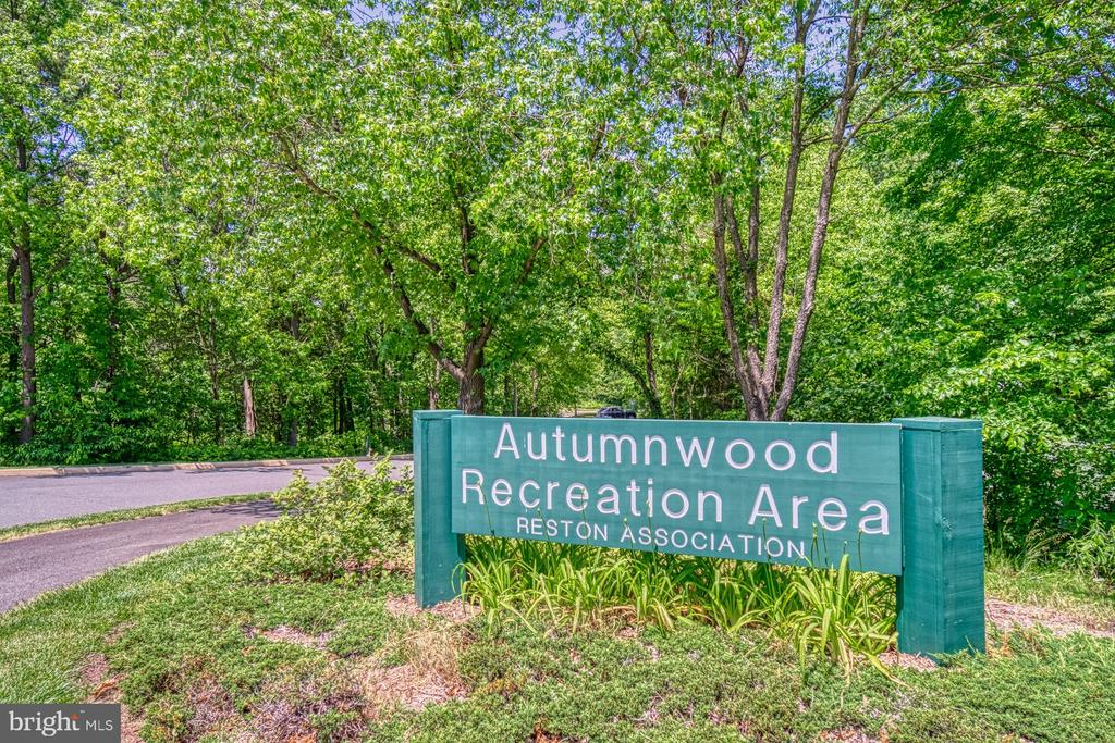 Reston Association Rec Area across the way - 11959 GREY SQUIRREL LN, RESTON