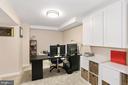 Basement Den/ Office/Study Room. - 203 TAPAWINGO RD SE, VIENNA