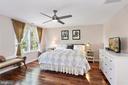 Ample Master Bedroom . - 203 TAPAWINGO RD SE, VIENNA