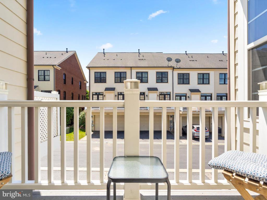 Balcony Off Kitchen - 8903 AMELUNG ST, FREDERICK