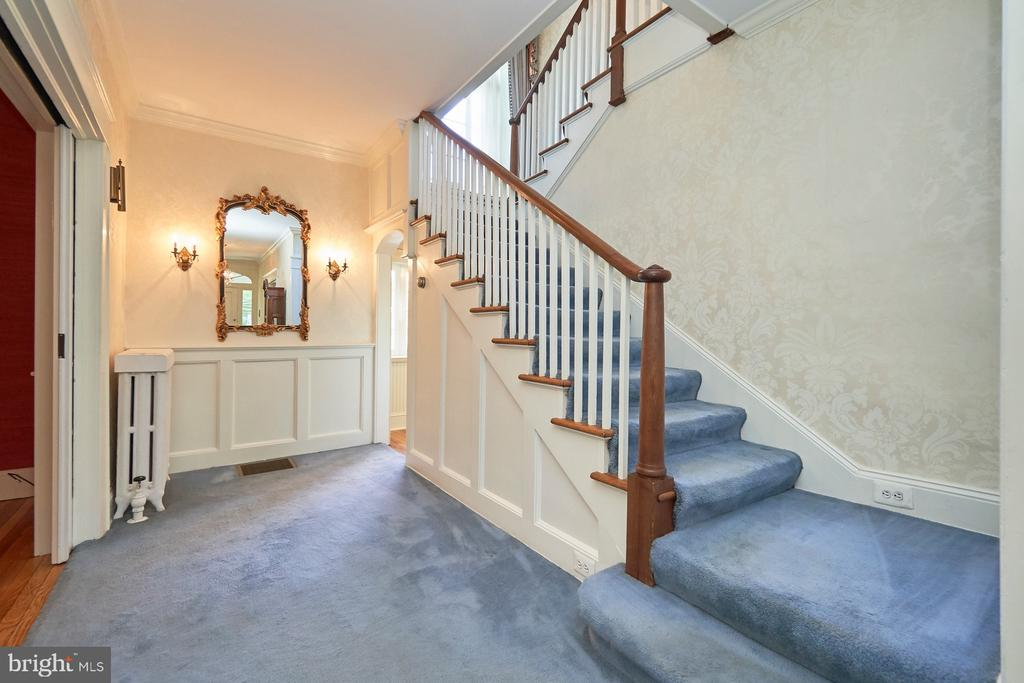 Center  Hall Foyer with Stairs to Upper Level - 635 S SAMUEL, CHARLES TOWN