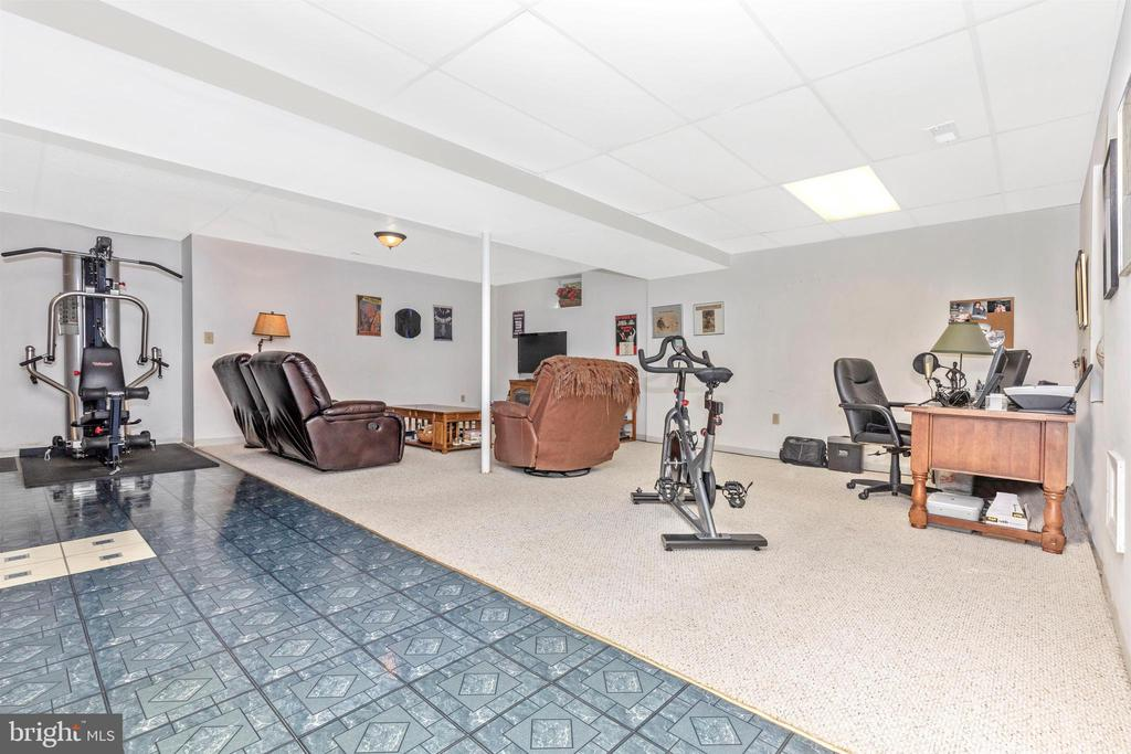 Lower Level-Rec Room - 13729 SAMHILL DR, MOUNT AIRY