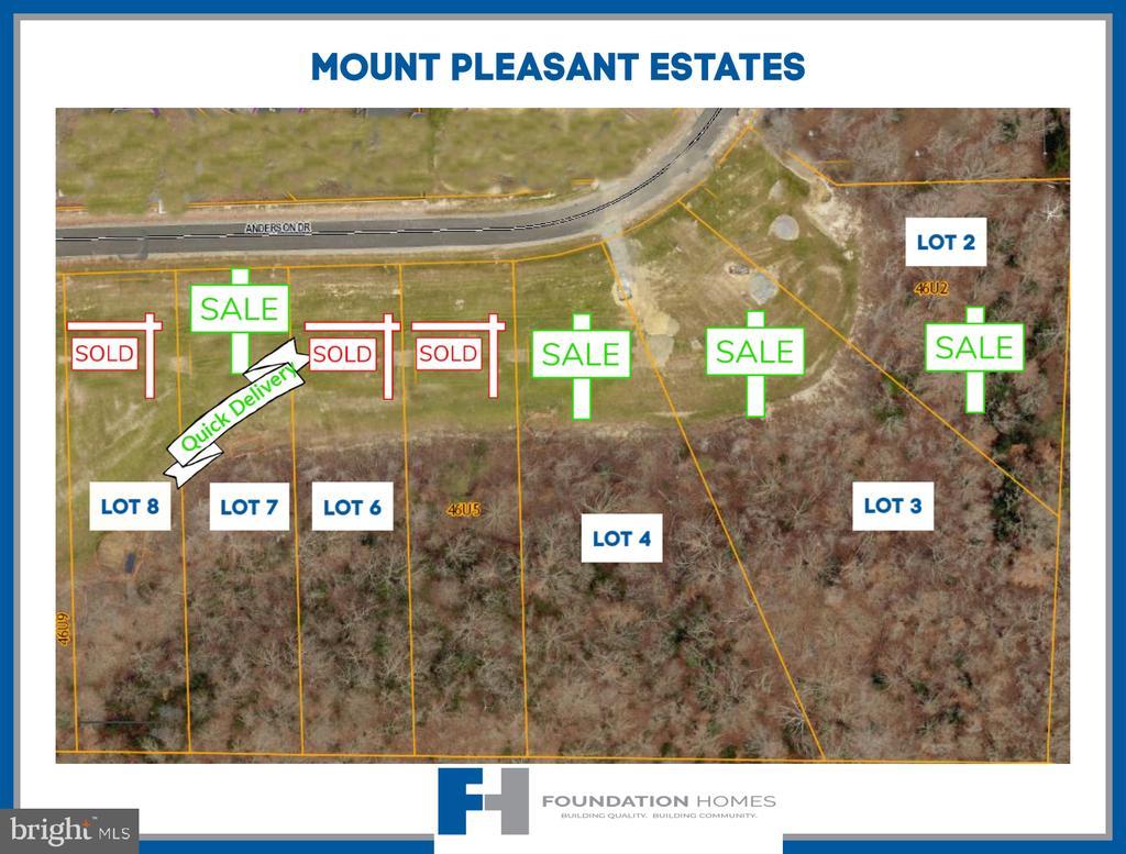 Lot 4 - Mount Pleasant Estates - 280 ANDERSON RD, FREDERICKSBURG