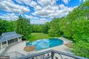 The stunning heated 66,000 gallon pool - 40310 HURLEY LN, PAEONIAN SPRINGS